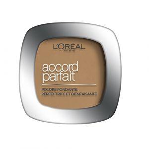 L'Oréal Accord Parfait 6.5.D. Caramel Doré - Poudre fondante perfectrice et bienfaisante