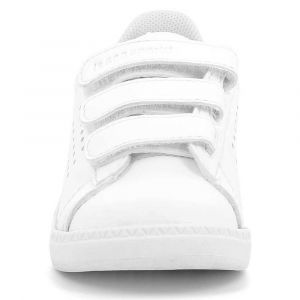 Le Coq Sportif Baskets Le-coq-sportif Courtset Inf Sport Girl - Optical White / Pink Carnation - EU 25