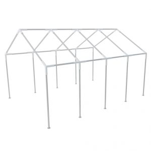 VidaXL 40154 - Structure de tente chapiteau pavillon jardin 8 x 4 m