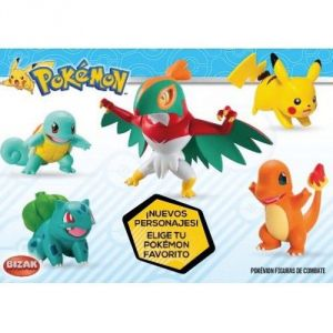 Tomy 2 figurines Pokemon - Modèle aléatoire