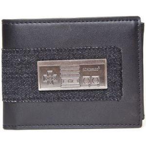 Nintendo - Portefeuille - Métal NES Controller
