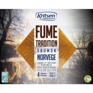 Kristen Saumon fume norvège asc 120g 4tr tradition