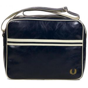 Fred Perry Besace Classic Shoulder Bag bleu marine