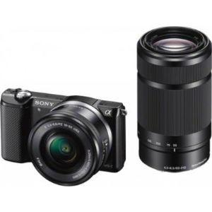 Sony ILCE-5000YB - Alpha 5000 (avec 2 objectifs 16-50mm et 55-210mm)