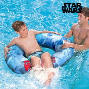 Bestway Roue-flotteur gonflable avec poignées Star Wars (91 cm)