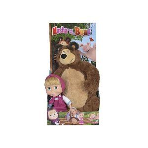 Simba Toys Masha 23cm + Peluche Michka 43cm
