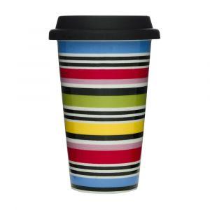 Sagaform Mug à Emporter avec Couvercle en Silicone - Studio takeaway