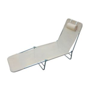 Homcom 01-0334 - Chaise longue pliante