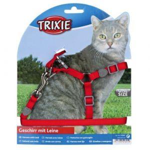 Trixie Parure Premium pour chat avec harnais et laisse