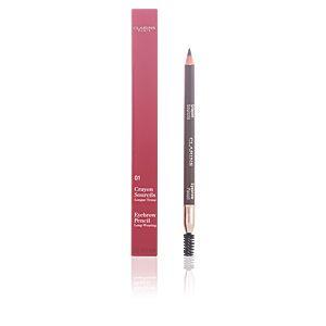 Clarins Crayon sourcils 01 Dark Brown - Longue tenue