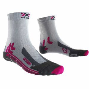 X-Socks Chaussettes Trek outdoor mid lady rose - Taille 37 / 38,39 / 40