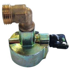 Eurogaz Vanne pour butagaz adaptateur valve ø 27 -