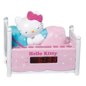 KT2052 - Radio réveil Hello Kitty