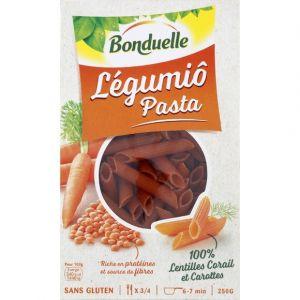 Bonduelle Légumiô Pasta - Pâtes aux lentilles corail et carottes
