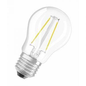 Osram Ampoule LED E27 4052899400351 en forme de goutte 1.2 W = 15 W blanc chaud (Ø x L) 45 mm x 77 mm EEC: A++ à filamen