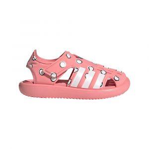 Adidas Water Sandals Kids, super pop/footwear white/core black EU 28 Chaussures & Sandales natation