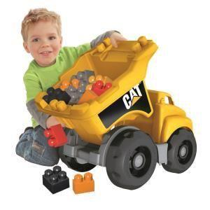 Mega Bloks 07845U - Caterpillar Camion benne Dump Truck