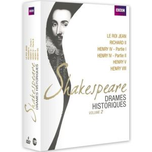 Coffret Shakespeare : Drames historiques Volume 2