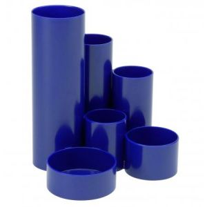 Maul 41155-37 - Organisateur de bureau MAULdeskbox, coloris bleu