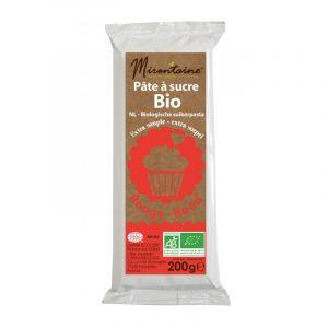 Mirontaine Pâte à sucre Bio Rouge 200g