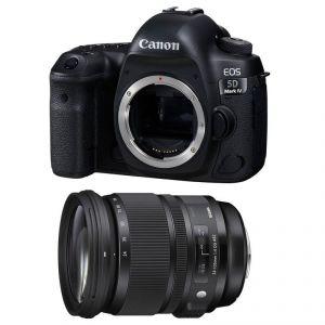 Canon EOS 5D Mark IV (avec objectif Sigma 24-105mm)