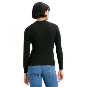 Levi's T-shirt ras de cou à manches longues - Noir