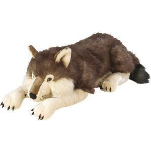 Wild Republic Peluche Floppies : Loup 76 cm
