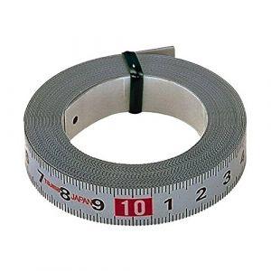 Tajima PIT50 Pit Measure Mètre à ruban 5 m/13 mm adhésif, Blanc