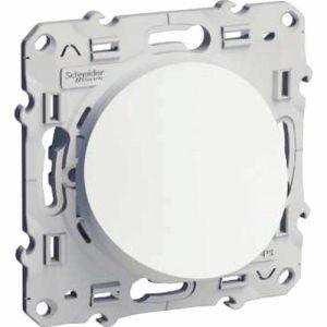 Schneider Electric Sortie de cable blanc Odace