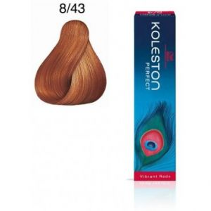 Wella Koleston Perfect Vibrant Reds 8.43 Blond clair cuivré doré