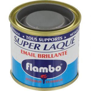 Flambo Laque brillante - 50 ml - Gris moyen