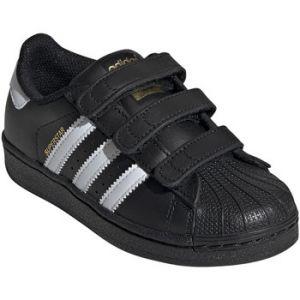 Adidas Chaussures enfant Chaussures kid Superstar Foundation Noir - Taille 33 1/2
