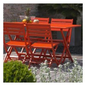 Table jardin 140x140 pliante - Comparer 26 offres