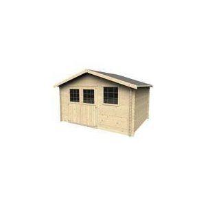 Decor et jardin Abri de jardin Timo en bois 28 mm 11,86 m2