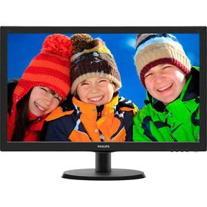 Philips V-line 223V5LSB2 - Ecran LED 21.5""