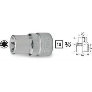 """Hazet 880-E10 - Douille pour clé à douille Torx T 10 3/8"""" (10 mm)"""