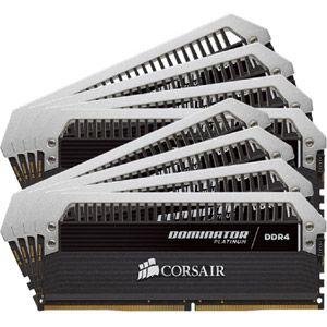 Corsair CMD64GX4M8A2666C15 - Barrette mémoire Dominator Platinum 64 Go (8x 8 Go) DDR4 2666 MHz CL15