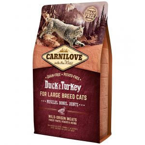 Carnilove Large Breed Muscles, Bones, Joints Duck & Turkey - Sac 400 g