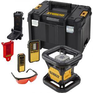 Dewalt Niveau laser rotatif double pente extérieur 18 Volts DCE079D1R