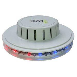 Ibiza Sound LED UFO-WH Effet de lumière à LED Blanc