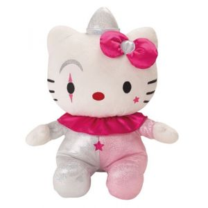 Jemini Peluche Hello Kitty Clown brillant 40 cm