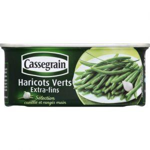 Cassegrain Haricots verts extra-fins - La boîte de 200G