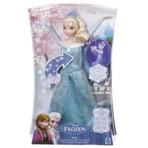 Mattel Poupée Elsa Chanteuse Des Neiges