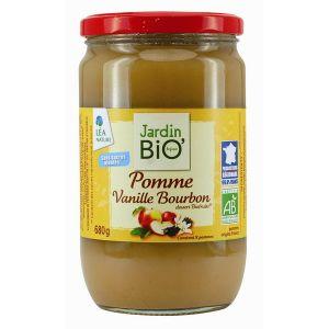 Jardin Bio Biofruits pomme vanille (680g)