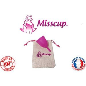 Misscup Cup Menstruelle Rose petite taille