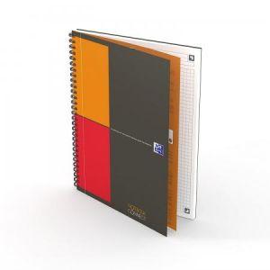Oxford 400080784 - Notebook Connect rel. intégrale B5 160 pages 80g/m², petits carreaux