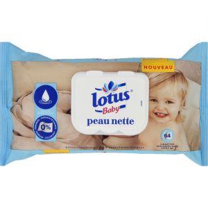 Lotus Baby Lingettes peau nette
