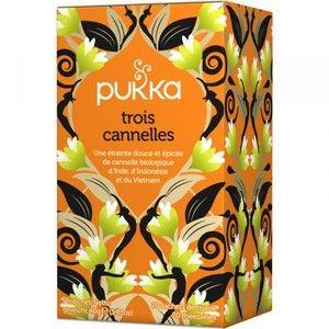Pukka Tisane 3 Cannelles BIO 20 sachets