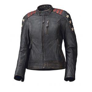 Held Blouson cuir femme LAXY noir - FR-44