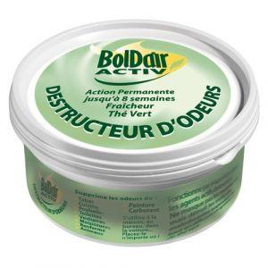 Boldair Boite de gel destructeur d'odeur the vert
